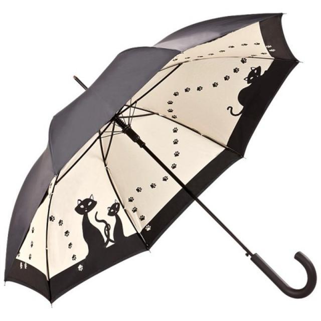 Schirm mit Katzen