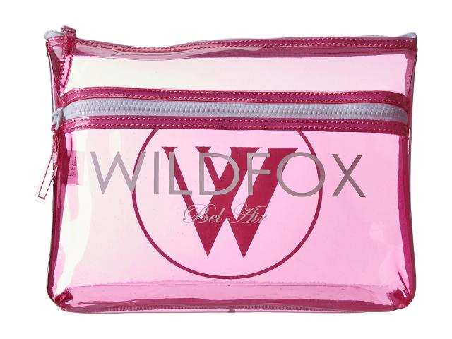 Bikini-Bag pink transparent
