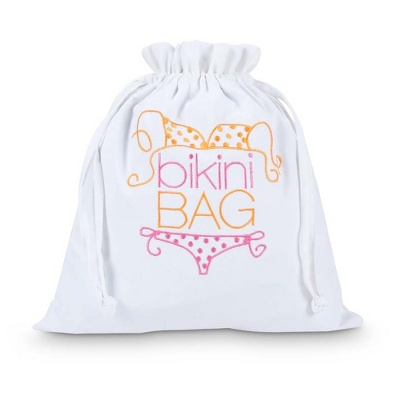 Bikini-Bag weiss