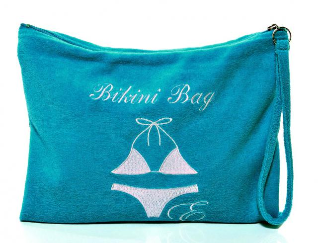 Bikini-Bag türkis