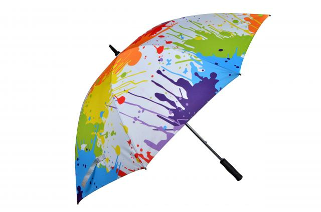 Schirm farbig