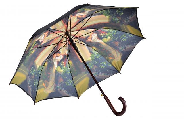 Schirm mit Innendruck