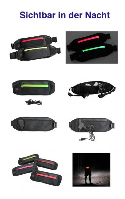 LED Joggingtaschen