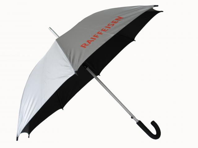 Schirm zweifarbig
