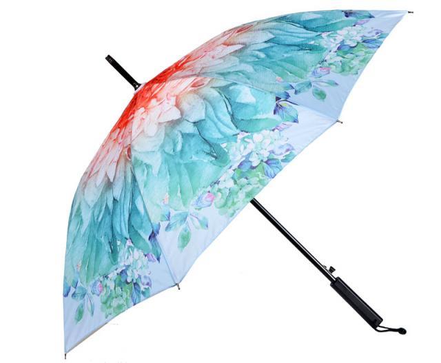 Schirm farbig bedruck