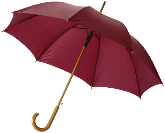 Schirm rot klassisch