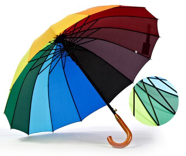 Schirm Regenbogen