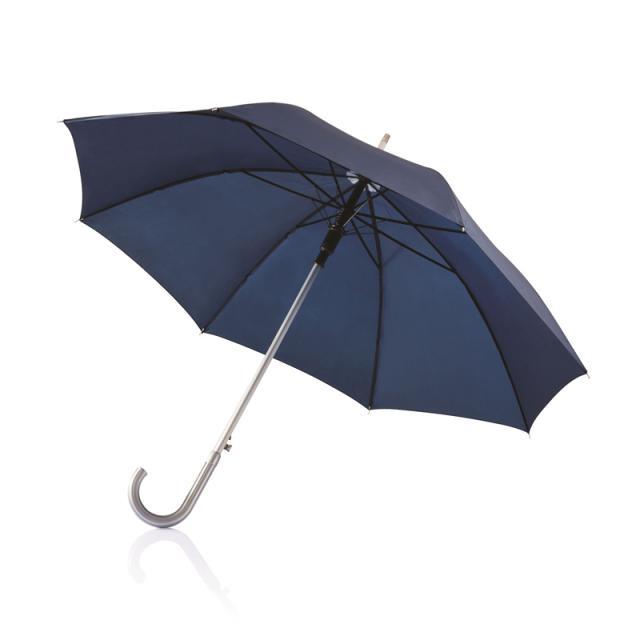 Schirm klassisch gross blau