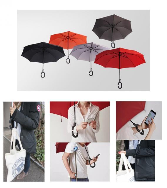 Schirm mit Logo
